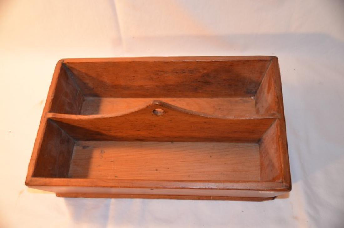 Wooden Utensil Box - 2