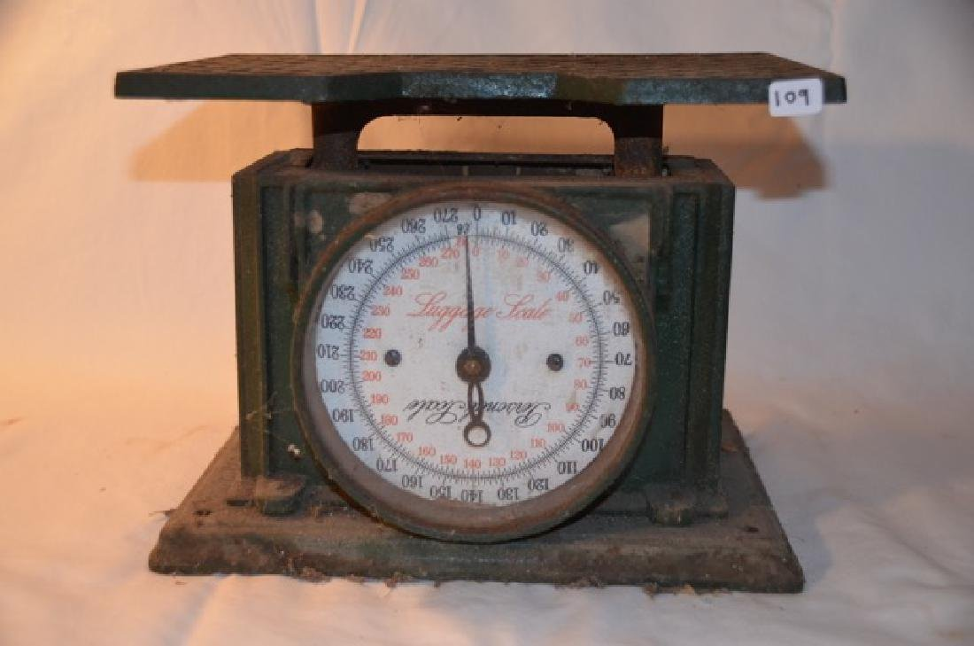Vintage Luggage Scale