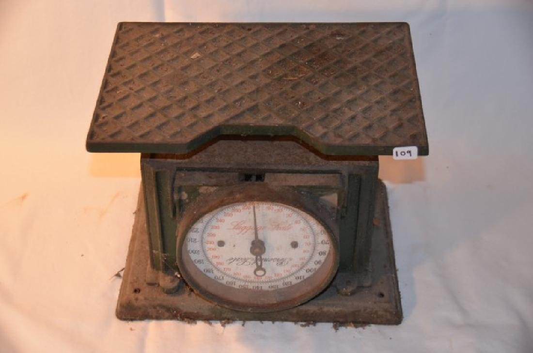Vintage Luggage Scale - 2