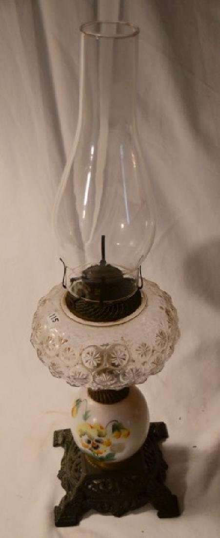 Handpainted Oil Lamp
