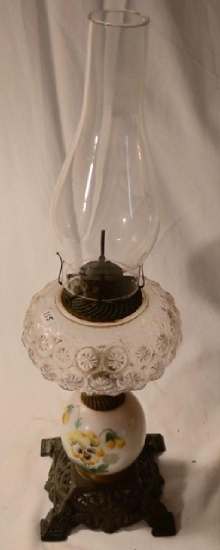 Handpainted Oil Lamp - 2