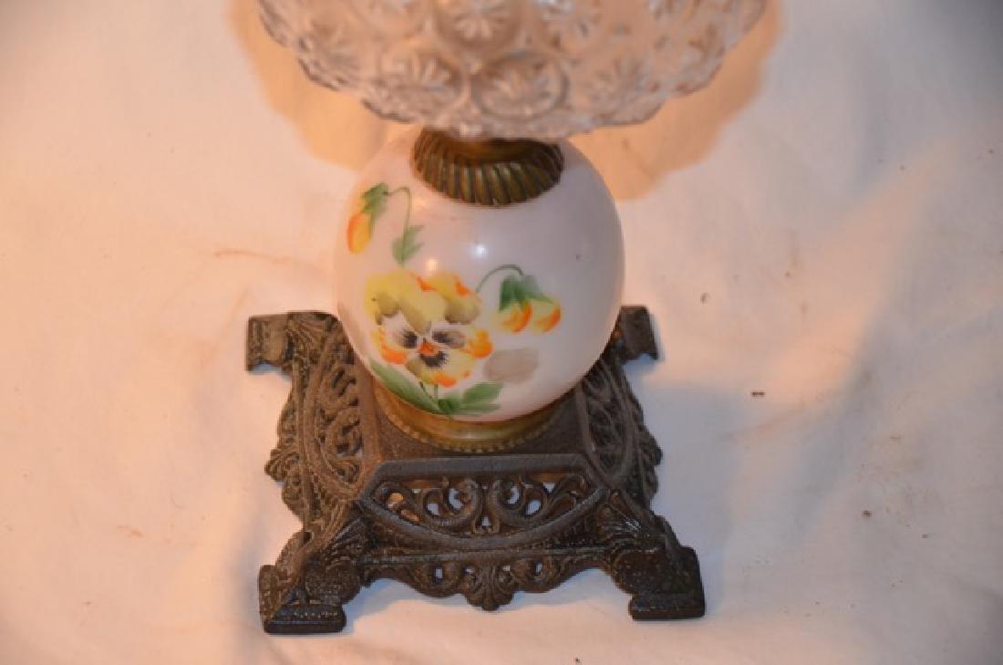 Handpainted Oil Lamp - 3