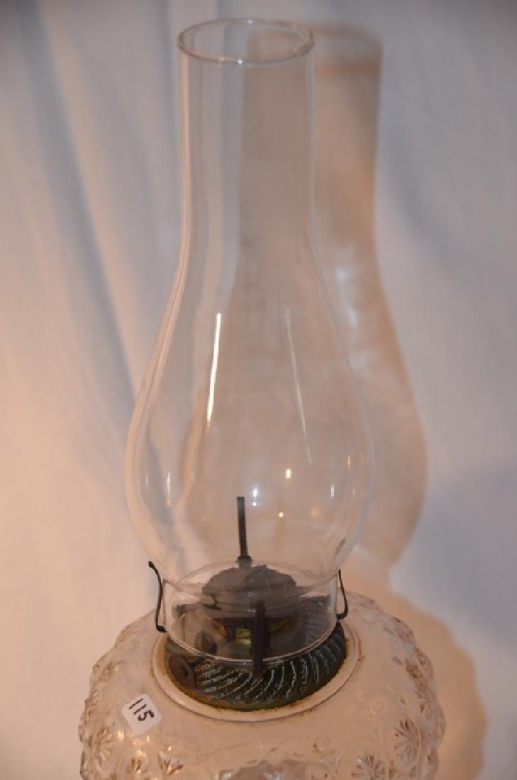 Handpainted Oil Lamp - 4