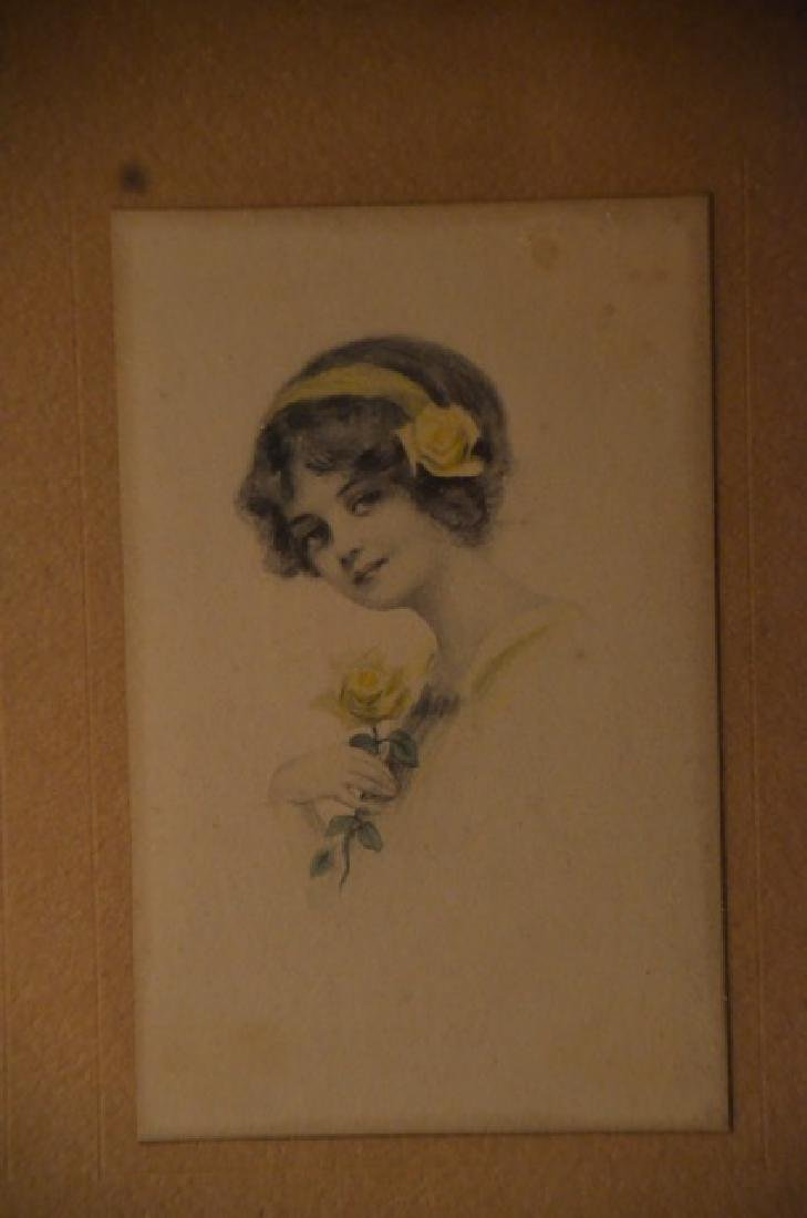 Gibson Girl Style Prints in a Frame - 2