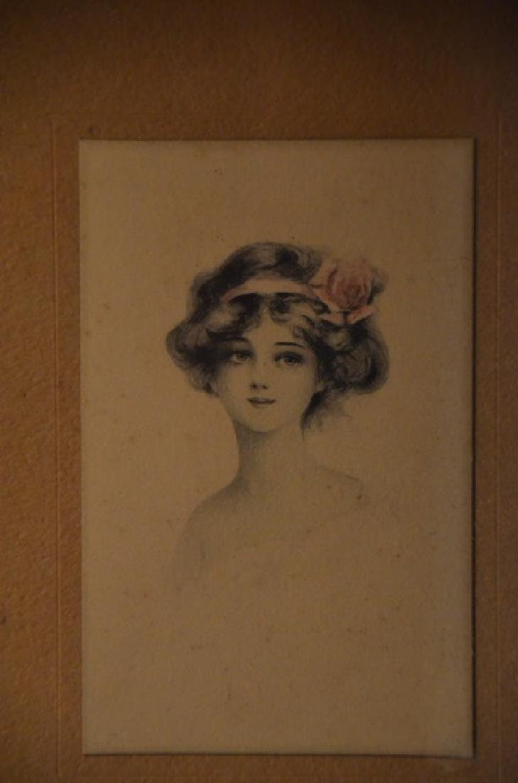 Gibson Girl Style Prints in a Frame - 3