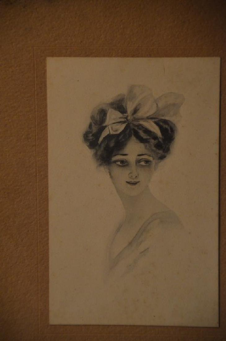 Gibson Girl Style Prints in a Frame - 4