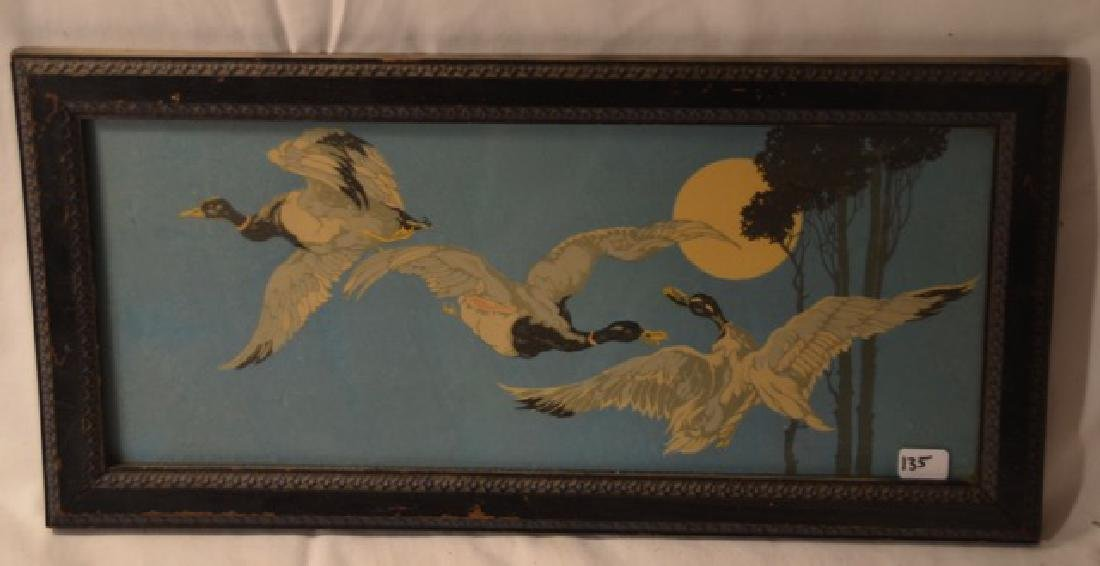 Deco Print of Geese