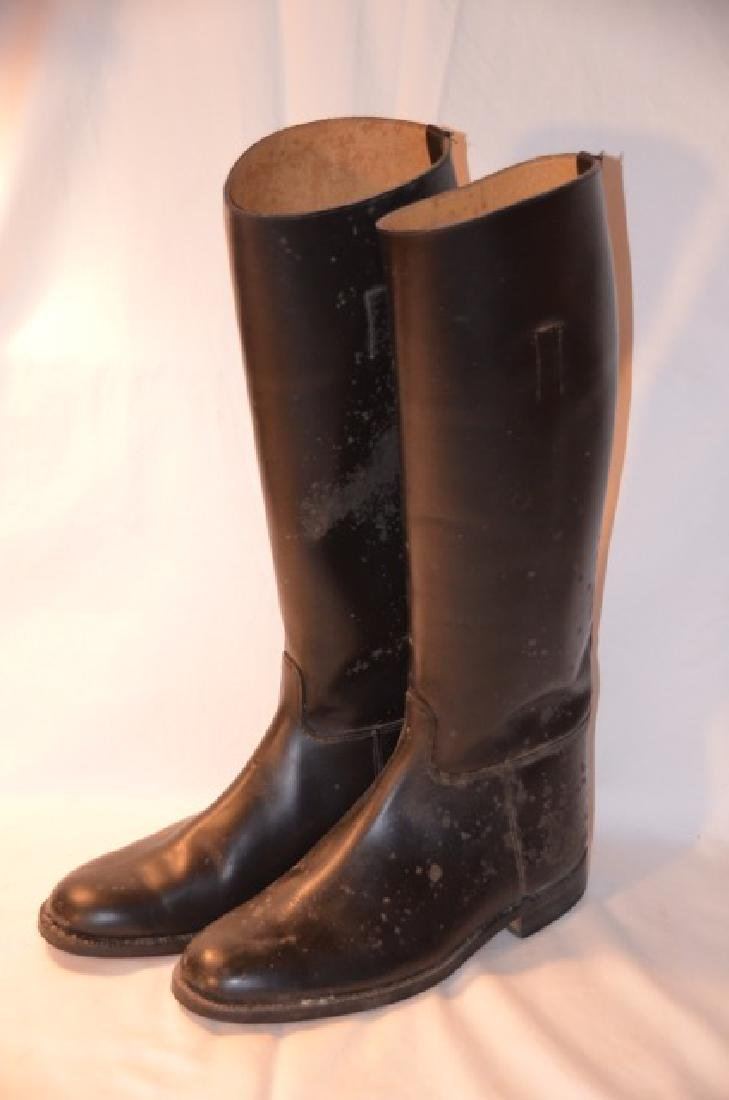Pair English Men's Riding Boots