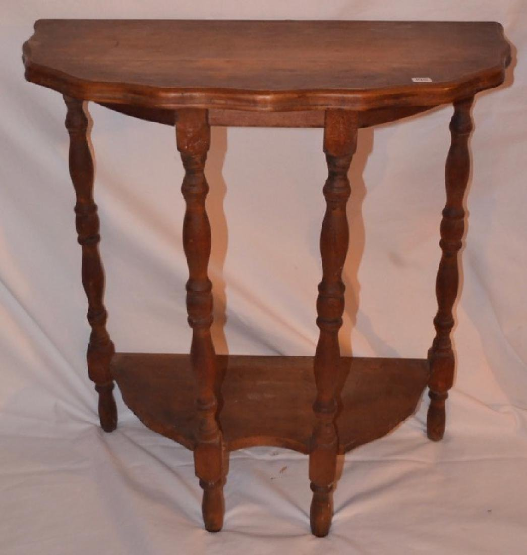 Small Half-Round Table - 2