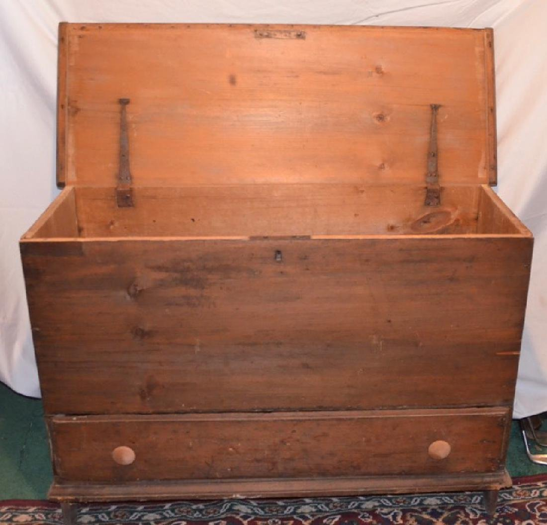 19th C. Blanket Chest