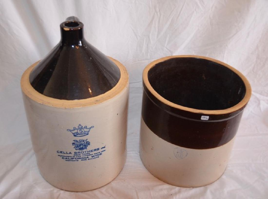 Five Gallon Crock & Jug