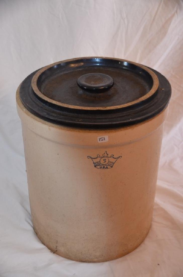 Five Gallon Crock with Lid - 2