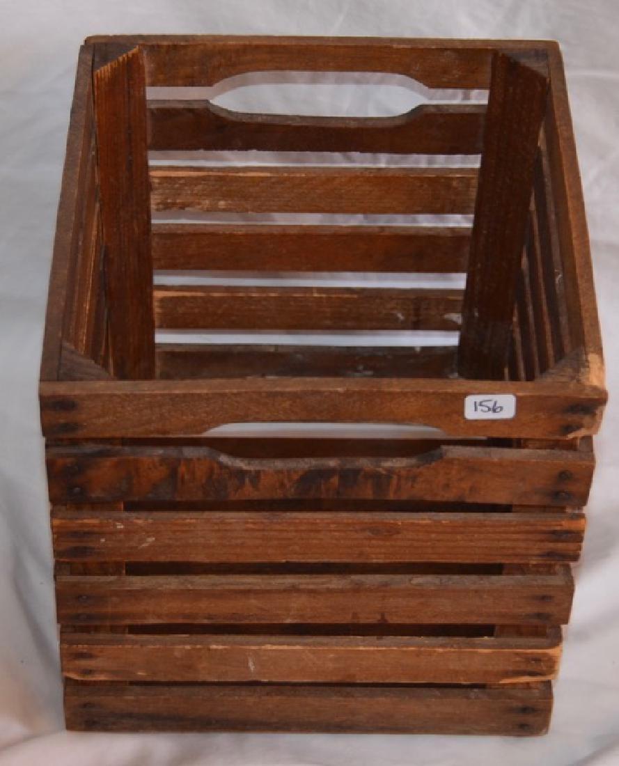 Two Wood Slat Boxes - 3
