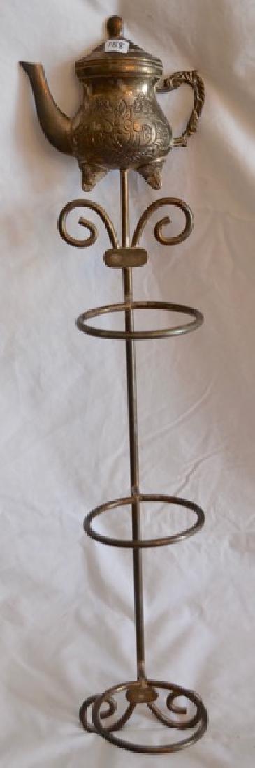 Brass Teacup Stand