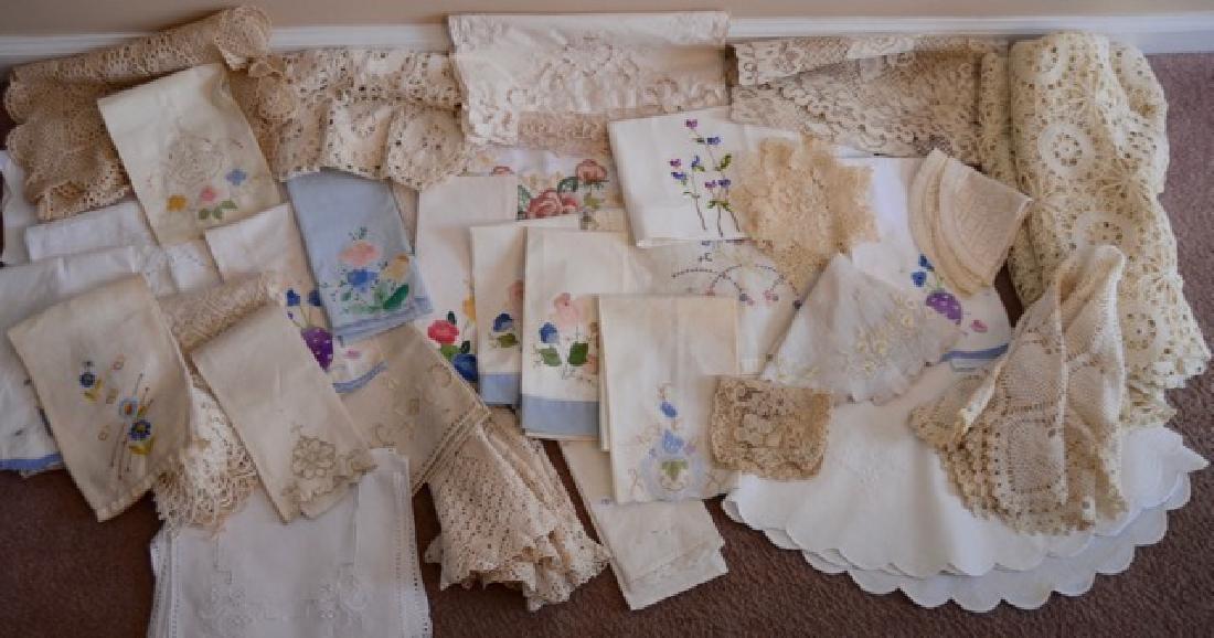 Dealers Lot of Vintage Textiles