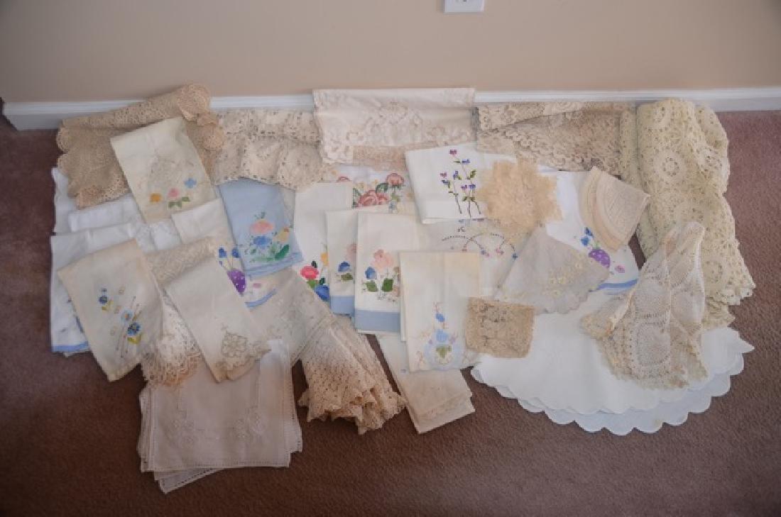 Dealers Lot of Vintage Textiles - 2