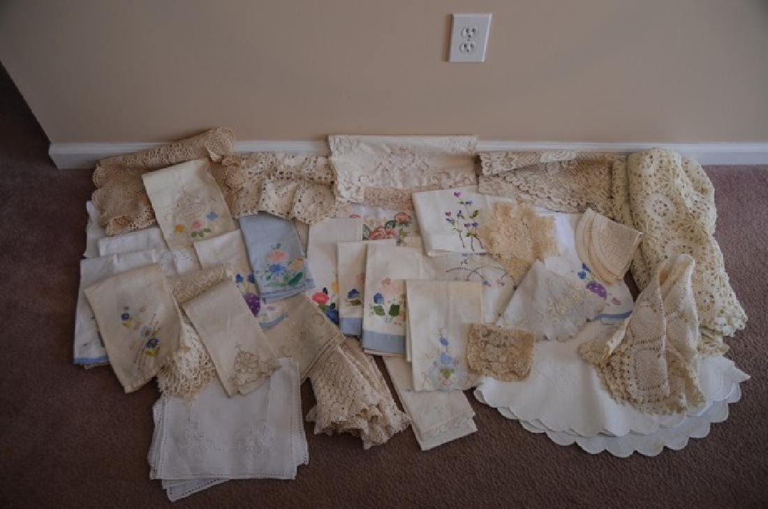 Dealers Lot of Vintage Textiles - 3