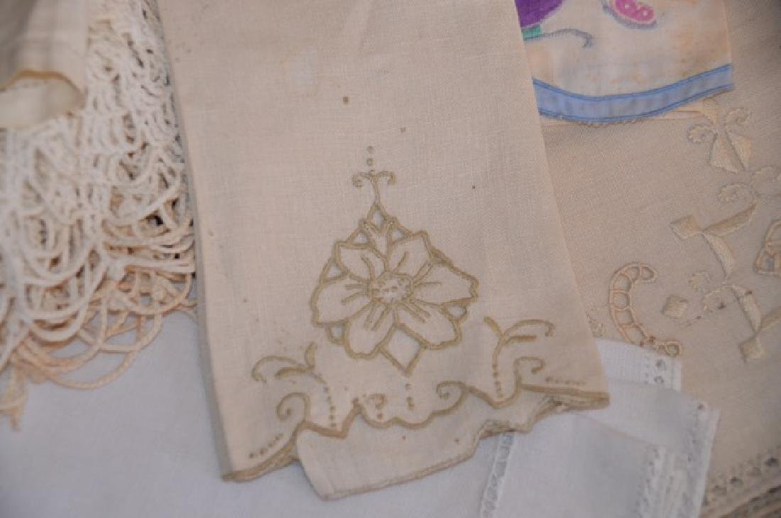 Dealers Lot of Vintage Textiles - 4
