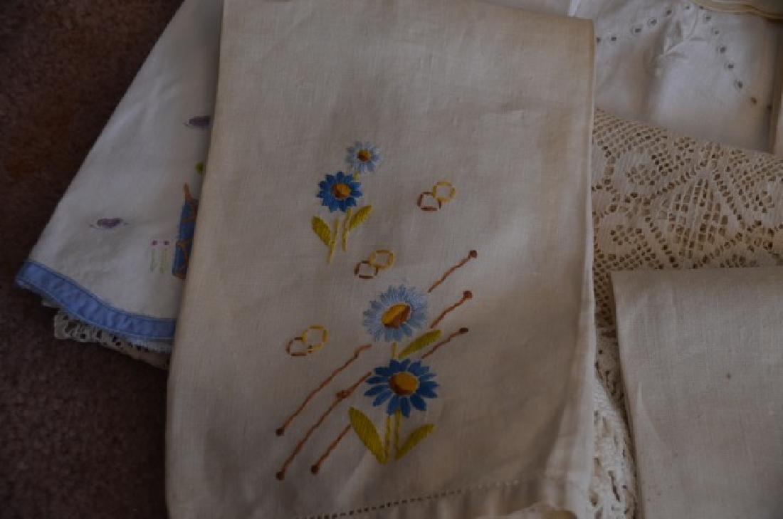Dealers Lot of Vintage Textiles - 5