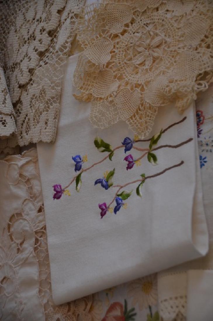 Dealers Lot of Vintage Textiles - 7