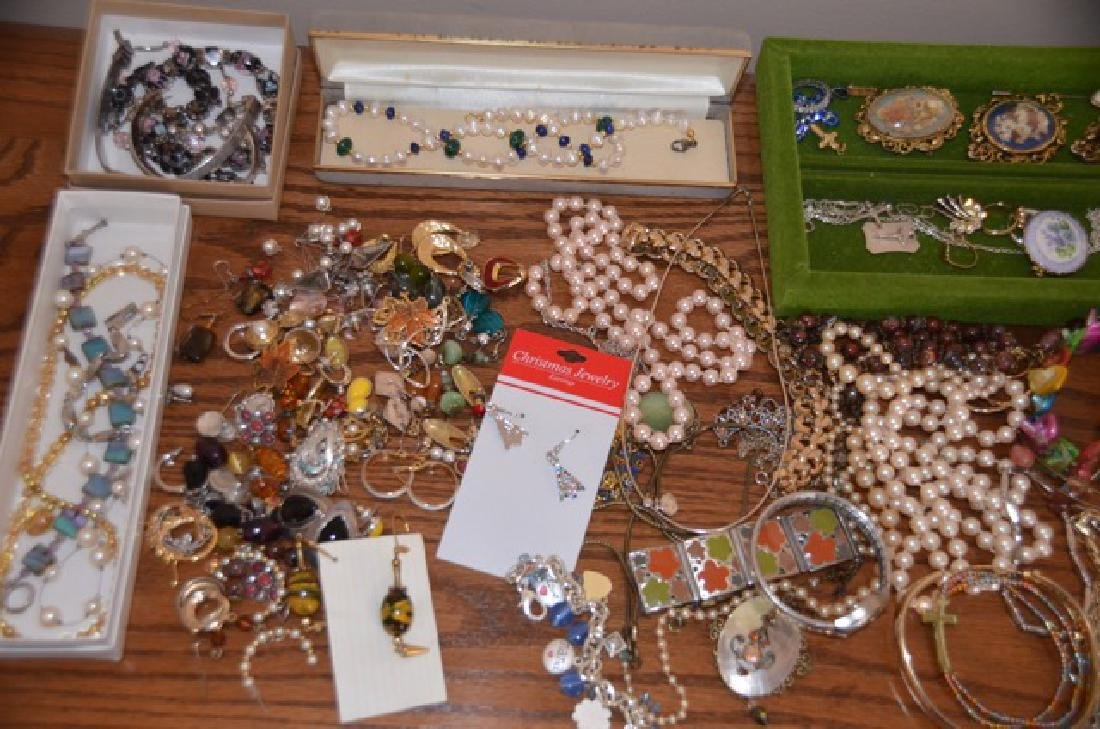 Dealers Lot of Costume Jewelry - 2