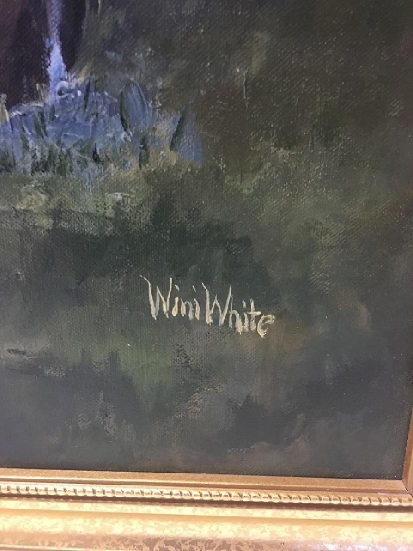 Oil on Canvas Signed Wini White - 3