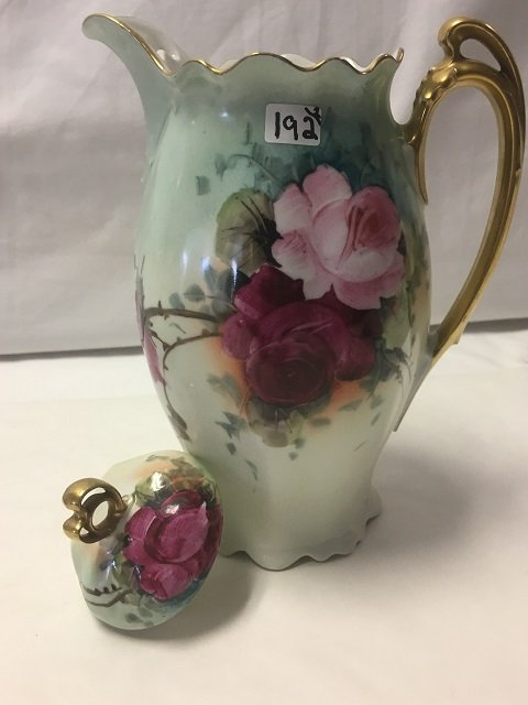 Two Floral Porcelain Pieces - 4