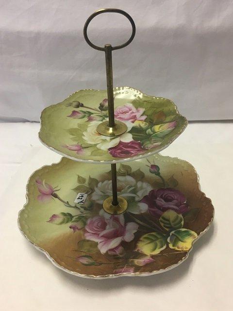 Two Floral Porcelain Pieces - 5