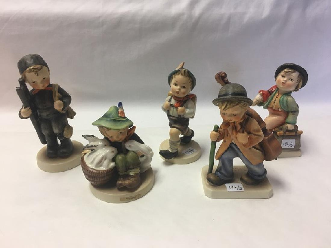Lot of Five (5) Early Hummel Figures