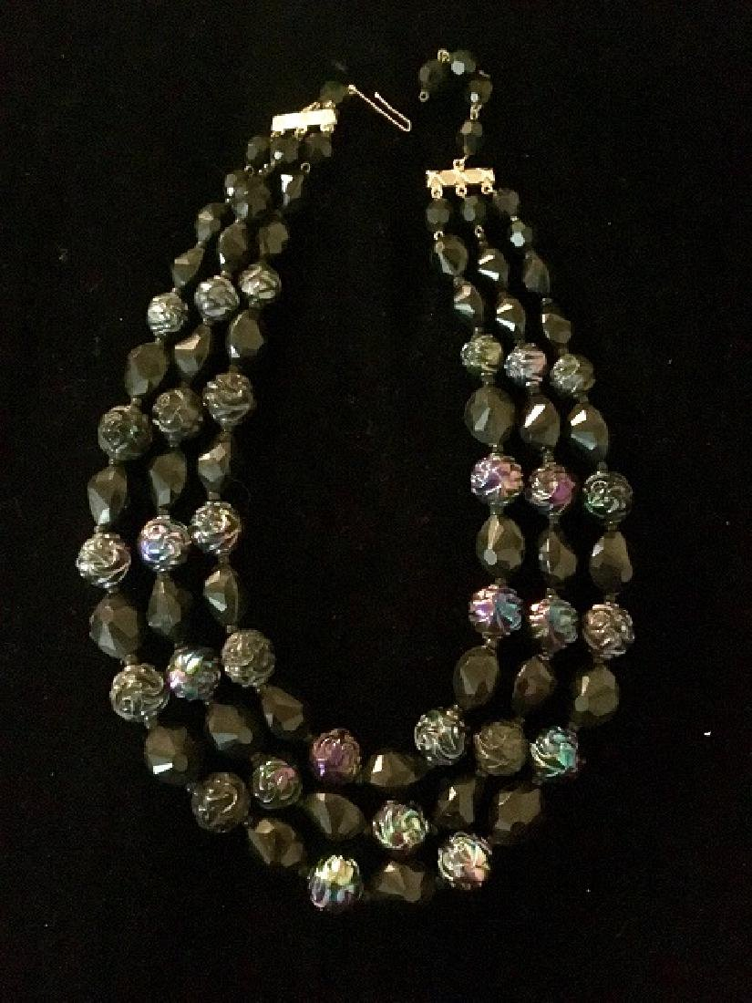 Lot of 1960's Multi-strand Necklaces (10) - 3