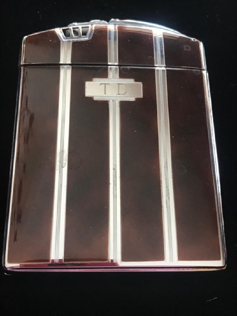 Ronson Cigarette Lighter & Case