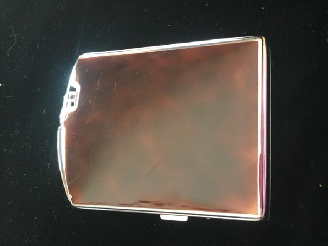 Ronson Cigarette Lighter & Case - 3