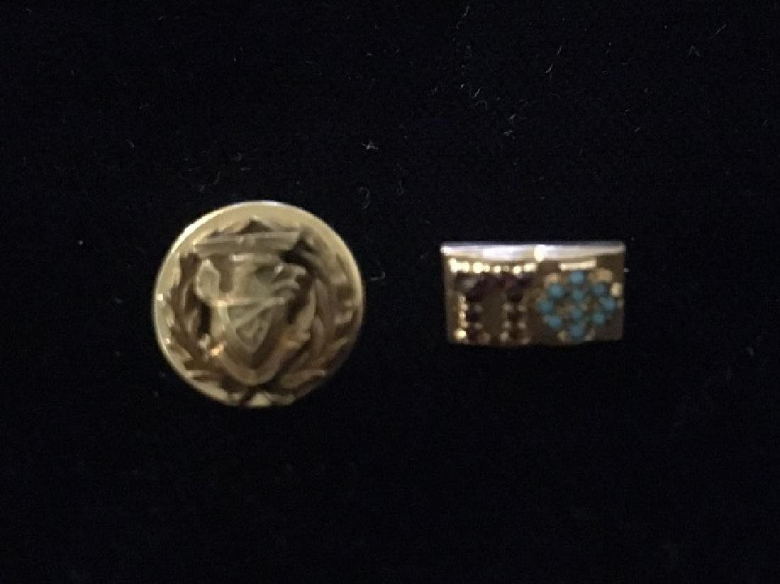 Two Vintage Pi Phi Sorority Pins