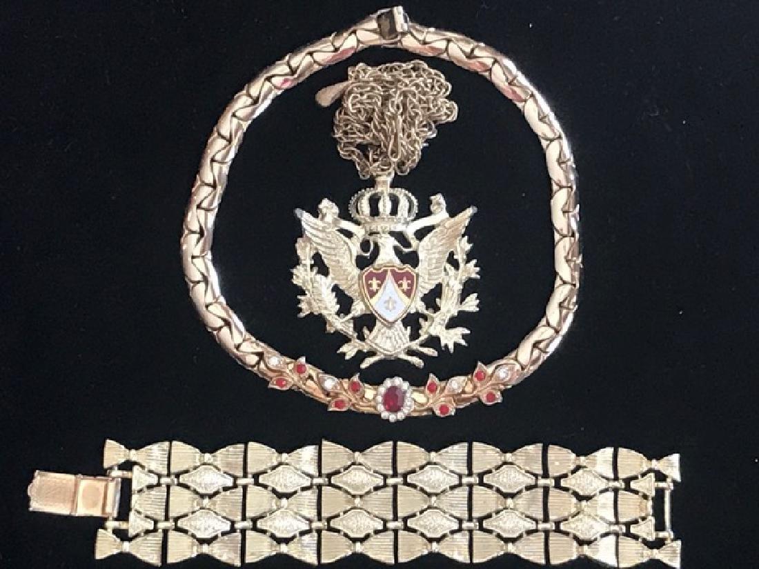 Coro Jewelry Lot (3)