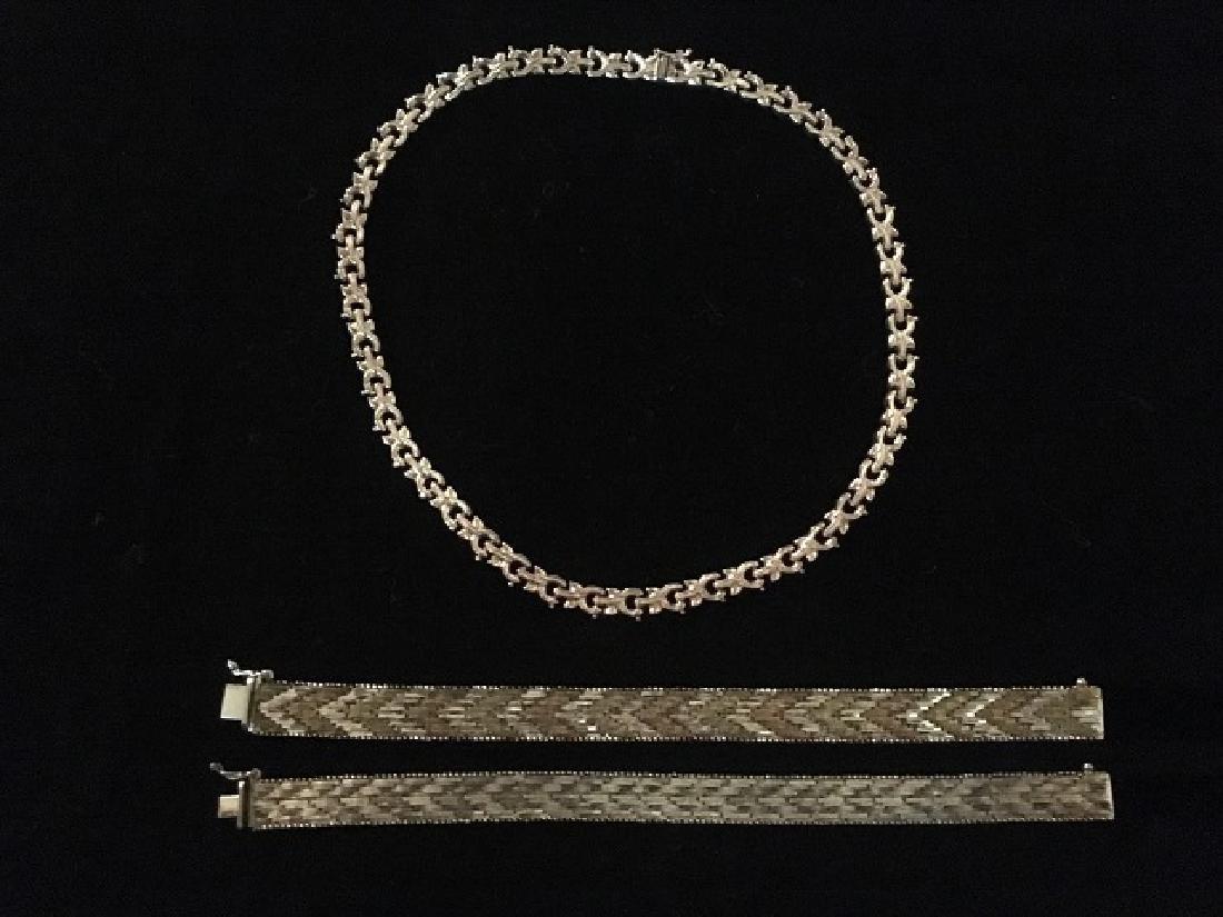Sterling Silver Bracelets & Choker