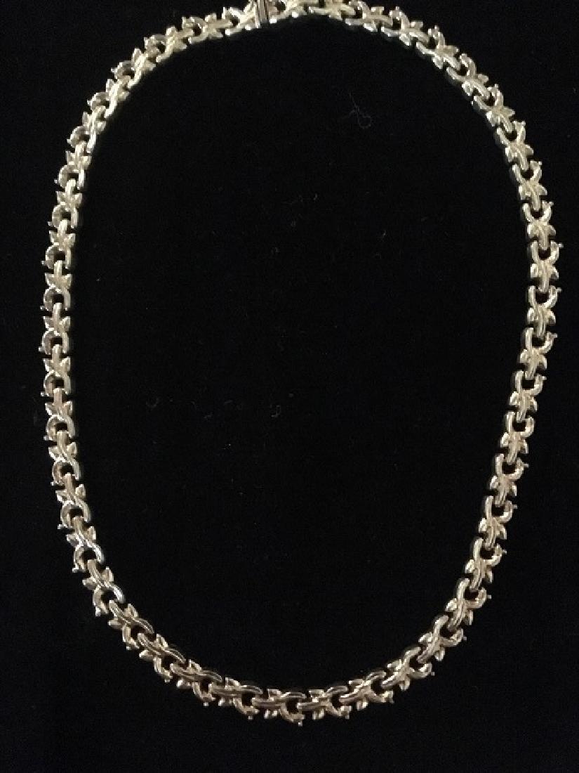 Sterling Silver Bracelets & Choker - 2