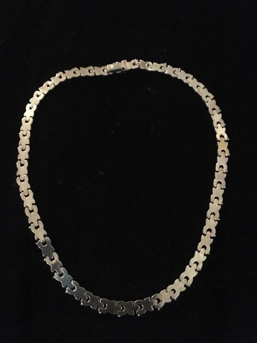 Sterling Silver Bracelets & Choker - 3