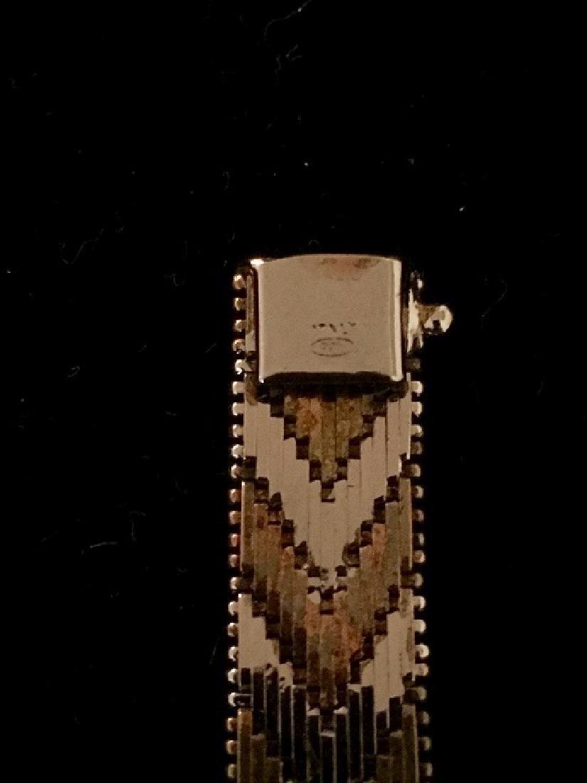 Sterling Silver Bracelets & Choker - 7
