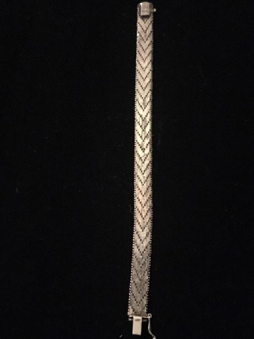 Sterling Silver Bracelets & Choker - 9