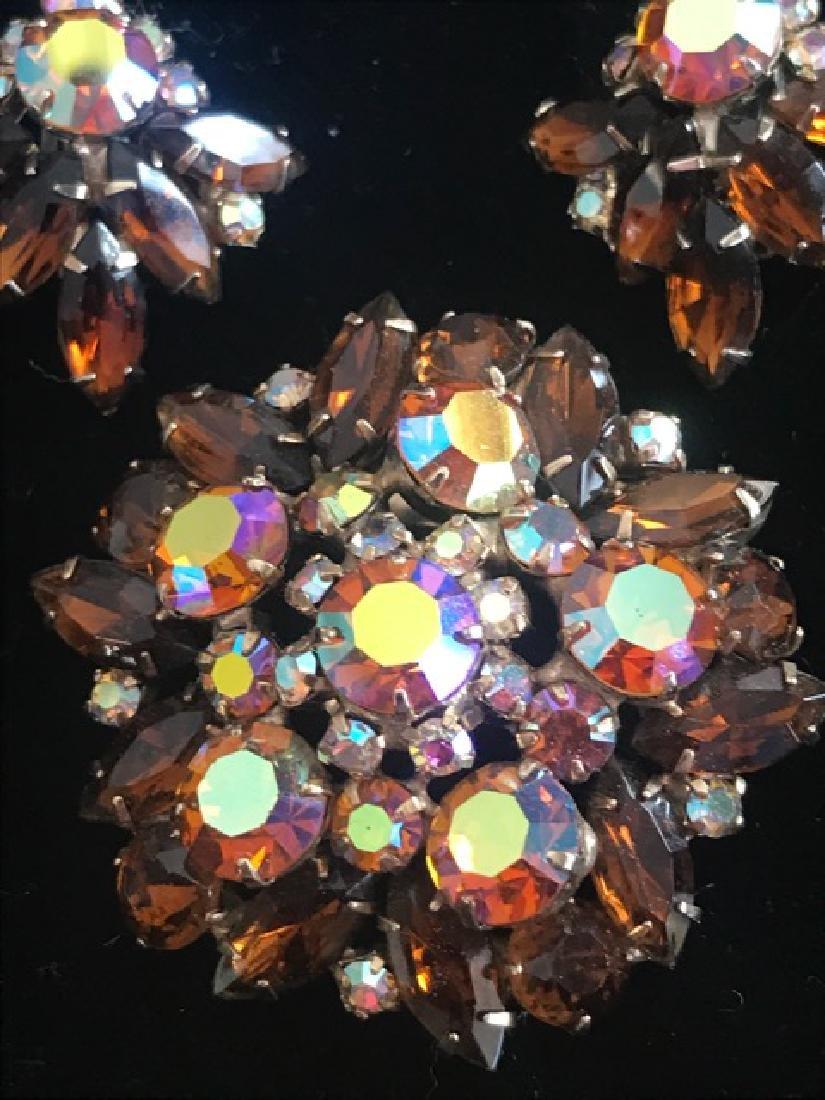 Aurora Borealis Crystal Jewelry Lot - 2
