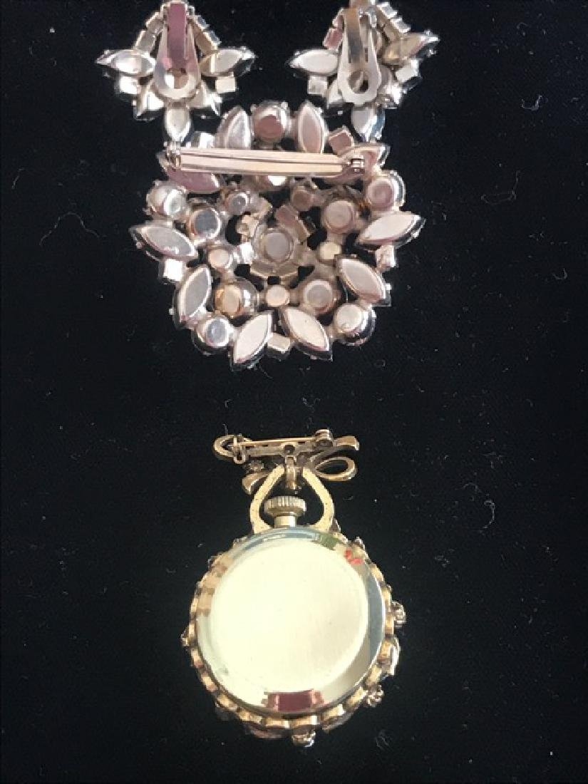 Aurora Borealis Crystal Jewelry Lot - 4