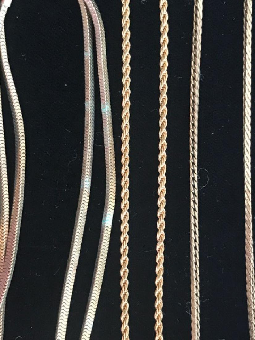 Lot of Gold Filled Chains & Bracelets - 3