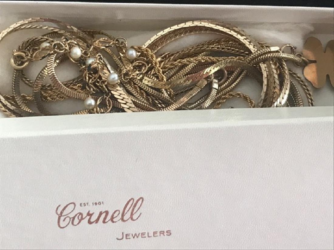 Lot of Gold Filled Chains & Bracelets - 4