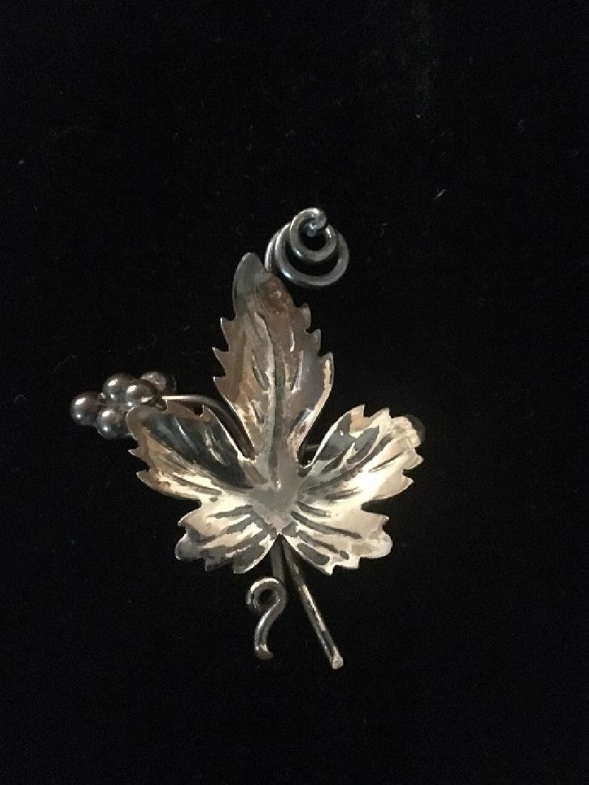 Sterling Silver Pin Lot (4) - 5