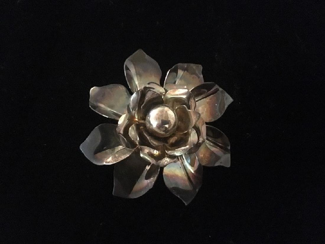 Sterling Silver Pin Lot (4) - 9