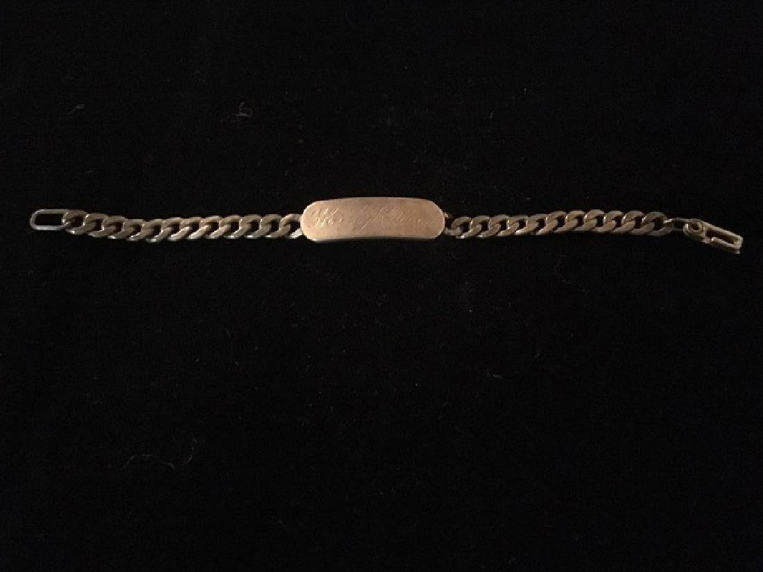 Sterling Silver Charm & ID Bracelet - 6