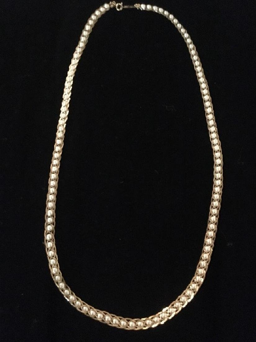 Two Napier Faux Pearl Necklaces - 6