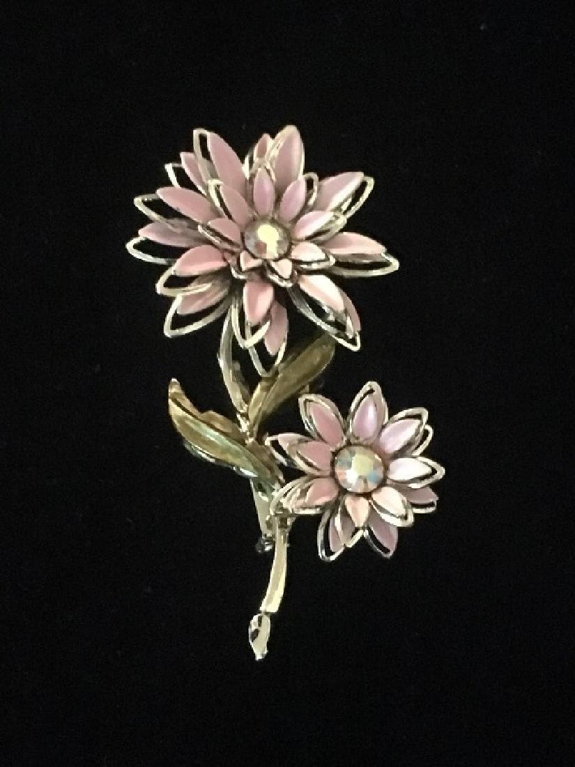 Costume Jewelry Pin Lot (5) - 6
