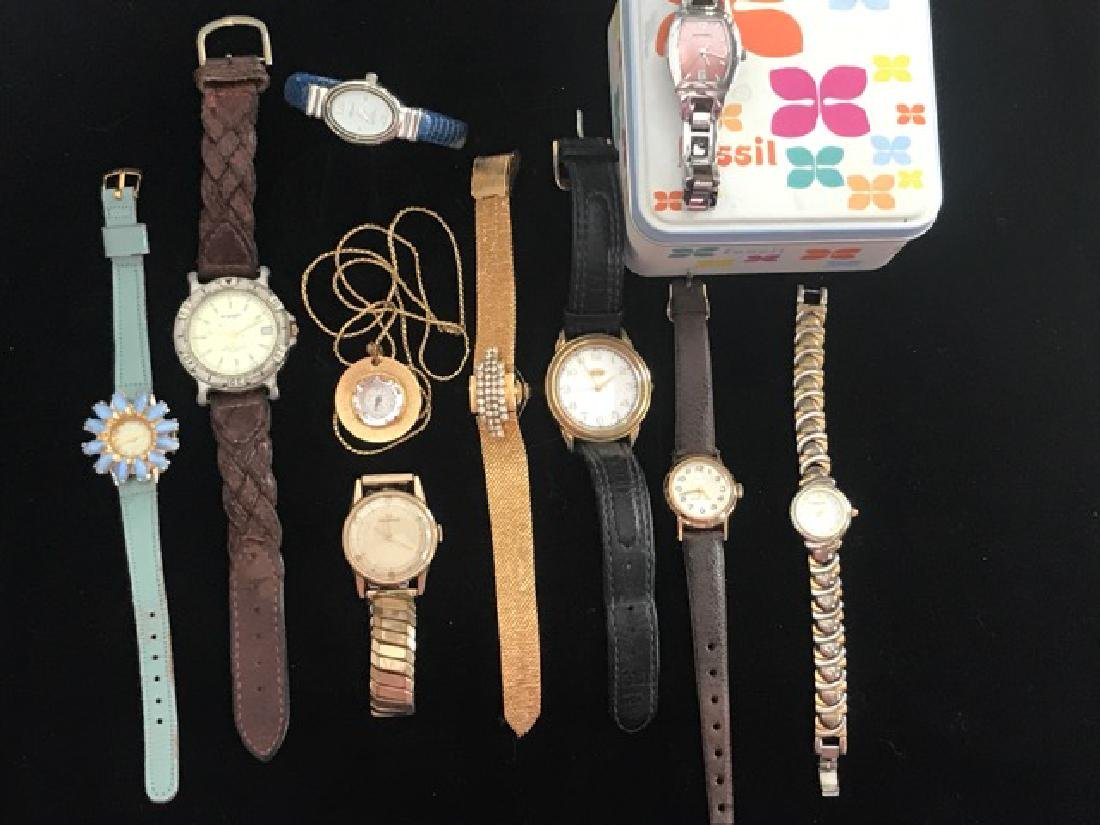 Watch Lot inc. Fossil, Wrangler, Guess & Others (10)