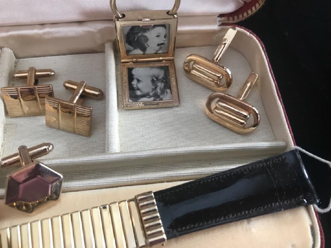 Gentleman's Cufflink & Dresser Lot - 3